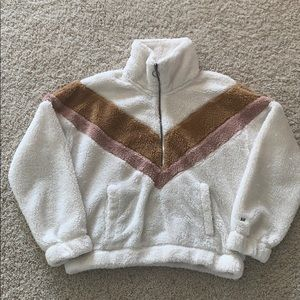 Abercrombie Fleece Sherpa Size Small